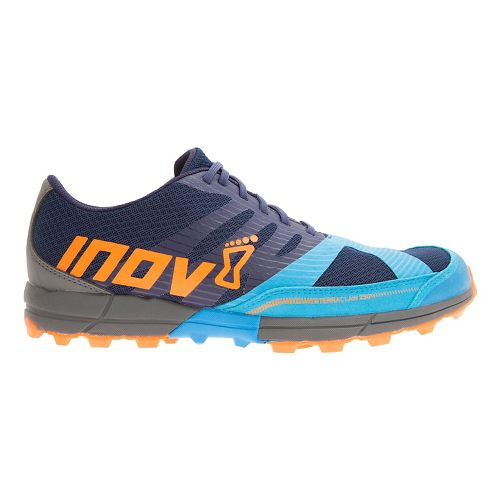 Mens Inov-8 Terraclaw 250 Trail Running Shoe - Navy/Blue/Orange 8.5