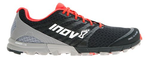 Mens Inov-8 Trail Talon 250 Trail Running Shoe - Black/Red/Grey 10