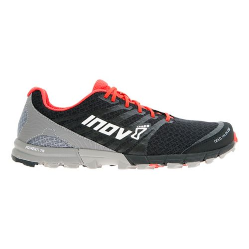 Mens Inov-8 Trail Talon 250 Trail Running Shoe - Black/Red/Grey 12.5