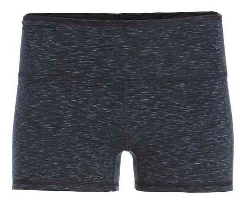 Womens Tasc Performance Move Your Booty Reversible Unlined Shorts - Black Heather L