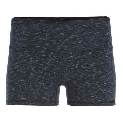 Womens Tasc Performance Move Your Booty Reversible Unlined Shorts - Black Heather XL