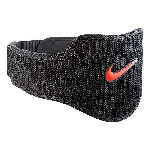 Nike Strength Training Belt 2.0 Fitness Equipment - Black/Total Crimson L