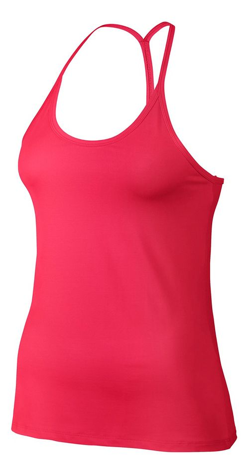 Womens Nike Slim Strappy Sleeveless & Tank Technical Tops - Racer Pink XL