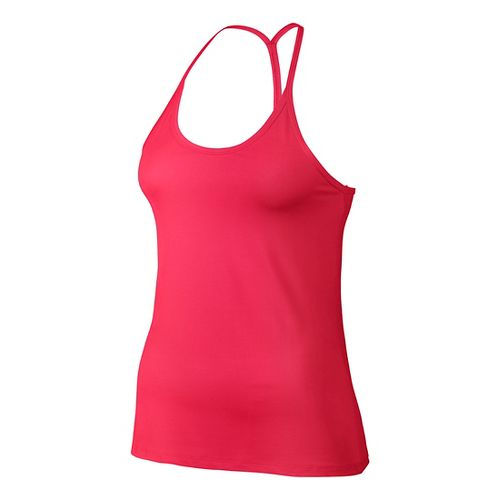 Womens Nike Slim Strappy Sleeveless & Tank Technical Tops - Racer Pink S