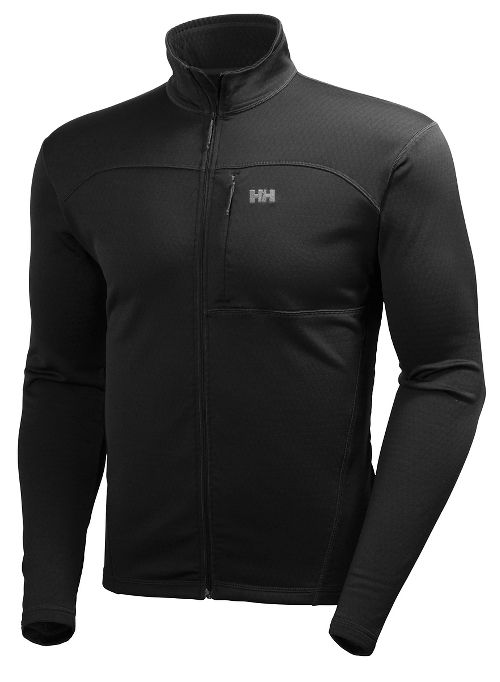 Mens Helly Hansen Vertex Stretch Midlayer Cold Weather Jackets - Black XL