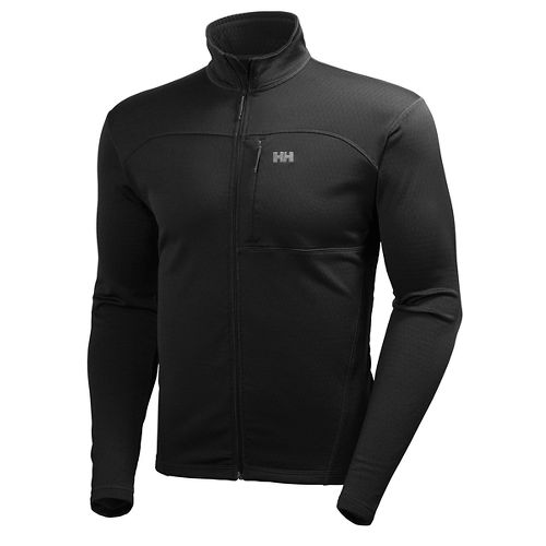 Mens Helly Hansen Vertex Stretch Midlayer Cold Weather Jackets - Black M