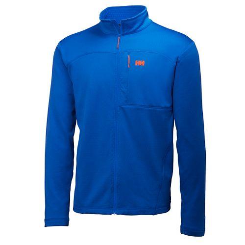 Mens Helly Hansen Vertex Stretch Midlayer Cold Weather Jackets - Blue XL