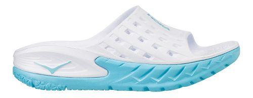 Womens Hoka One One Ora Recovery Slide Sandals Shoe - Medieval Blue 9