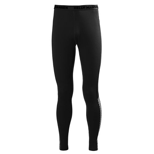 Mens Helly Hansen HH Active Flow Tights & Leggings Pants - Black M