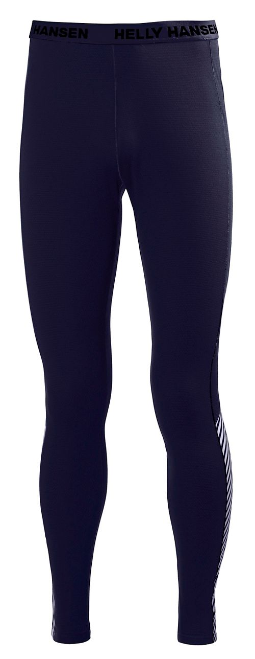 Mens Helly Hansen HH Active Flow Tights & Leggings Pants - Evening Blue XXL
