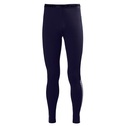 Mens Helly Hansen HH Active Flow Tights & Leggings Pants - Evening Blue S