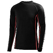 Mens Helly Hansen HH Warm Ice Crew Long Sleeve Technical Tops