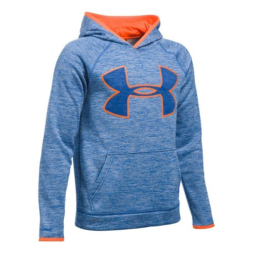 Under Armour Boys Armour Fleece Twist Highlight Half-Zips & Hoodies Technical Tops - Ultra ...