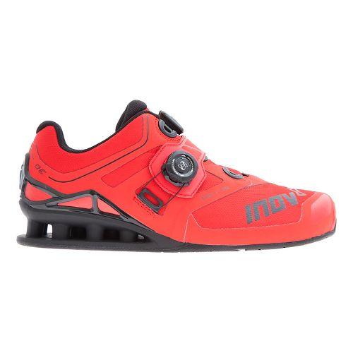 Mens Inov-8 FastLift 370 BOA Cross Training Shoe - Red/Black 10