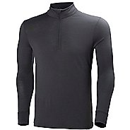 Mens Helly Hansen HH Wool 1/2 Zip Long Sleeve Technical Tops
