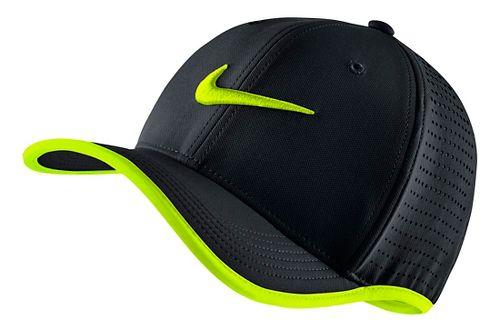 Nike Train Vapor Classic 99 Hat Headwear - Black/Volt