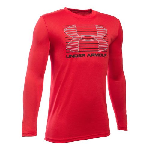 Kids Under Armour�Breakthrough Logo Long Sleeve T