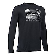 Under Armour Boys Breakthrough Logo T Long Sleeve Technical Tops