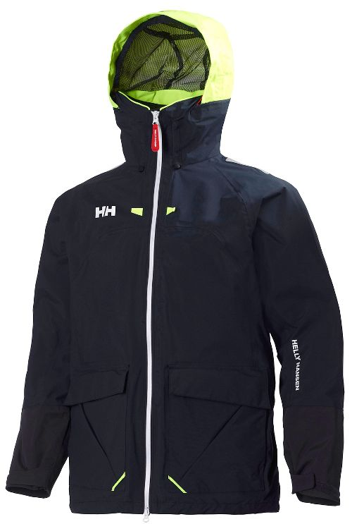 Mens Helly Hansen Crew Costal 2 Cold Weather Jackets - Navy L