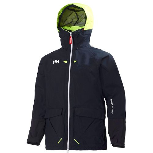 Mens Helly Hansen Crew Costal 2 Cold Weather Jackets - Navy M
