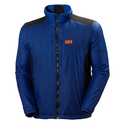 Mens Helly Hansen H2 Flow Cold Weather Jackets - Classic Blue L