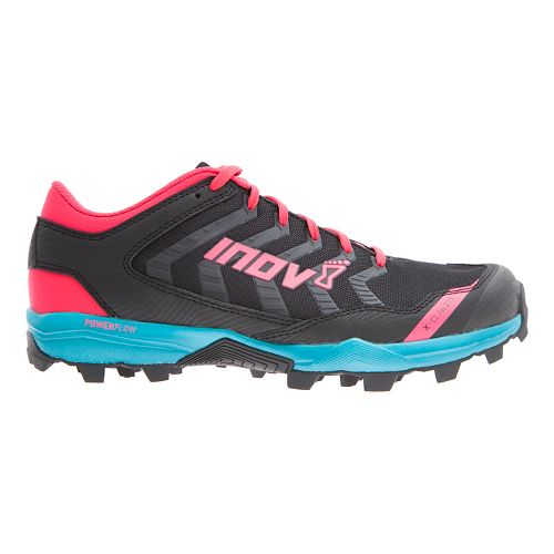 Womens Inov-8 X-Claw 275 Trail Running Shoe - Black/Teal/Berry 10.5