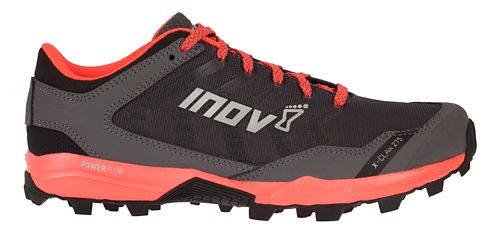 Womens Inov-8 X-Claw 275 Trail Running Shoe - Grey/Coral 8.5