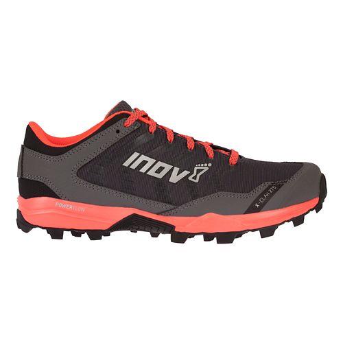 Womens Inov-8 X-Claw 275 Trail Running Shoe - Grey/Coral 6.5