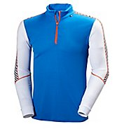 Mens Helly Hansen HH Dry Stripe 2 1/2 Zip Long Sleeve Technical Tops