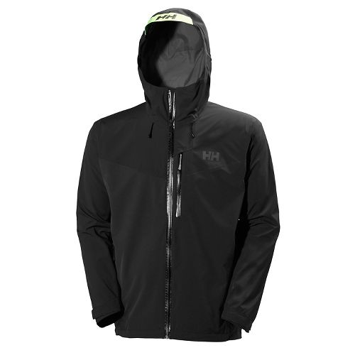 Mens Helly Hansen Jutland Cold Weather Jackets - Black L