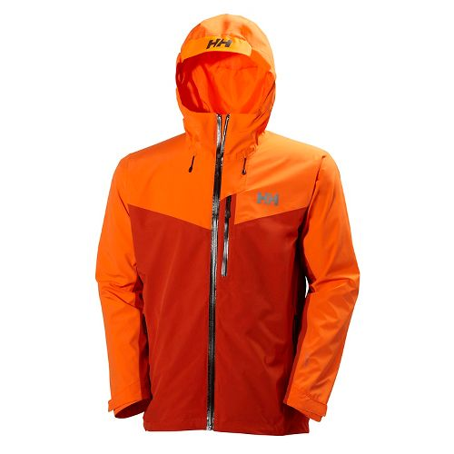 Mens Helly Hansen Jutland Cold Weather Jackets - Rusty Fire XL