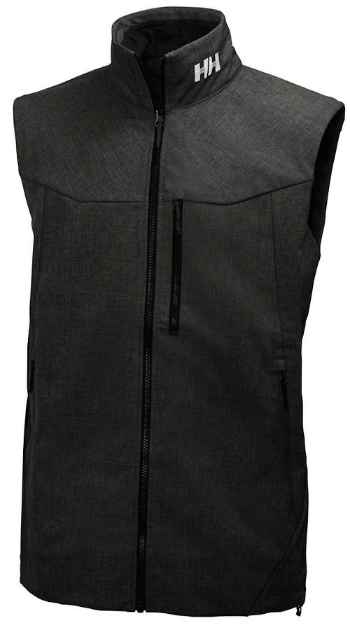 Mens Helly Hansen Paramount Vests Jackets - Black L