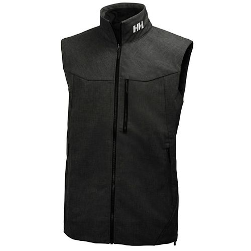Mens Helly Hansen Paramount Vests Jackets - Black M