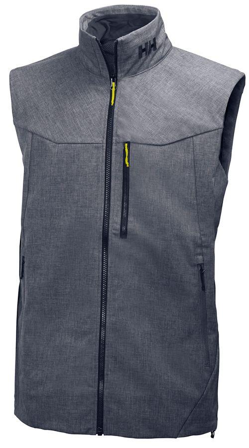 Mens Helly Hansen Paramount Vests Jackets - Grey Melange M