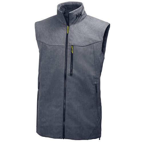 Mens Helly Hansen Paramount Vests Jackets - Grey Melange S
