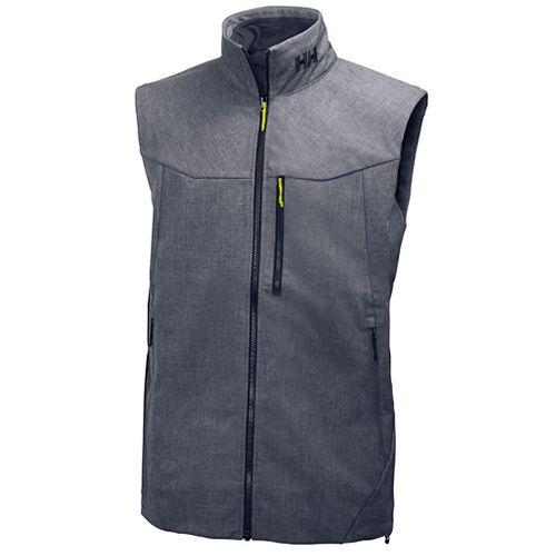 Mens Helly Hansen Paramount Vests Jackets - Grey Melange XXL