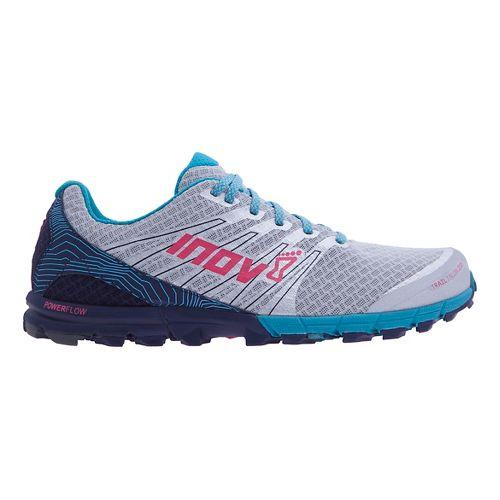 Womens Inov-8 Trail Talon 250 Trail Running Shoe - Black/Teal/Grey 7