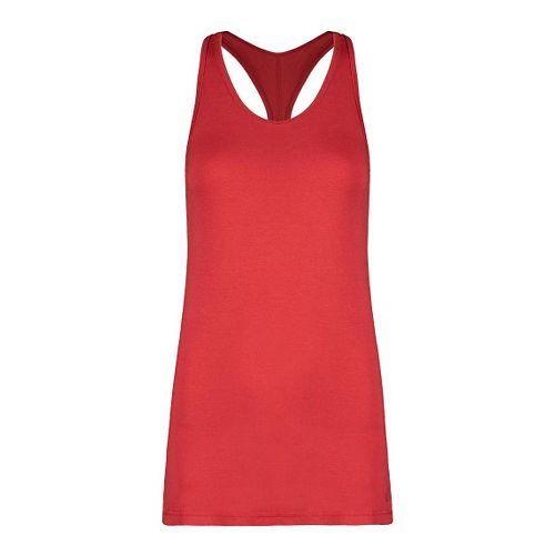 Womens Tasc Performance Core Racer Sleeveless & Tank Tops Technical Tops - Red Hot L ...