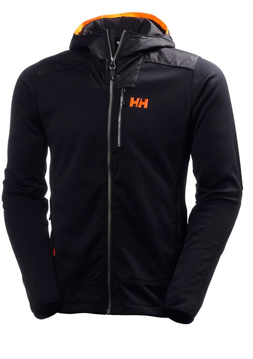 Mens Helly Hansen Ullr Midlayer Cold Weather Jackets - Black S