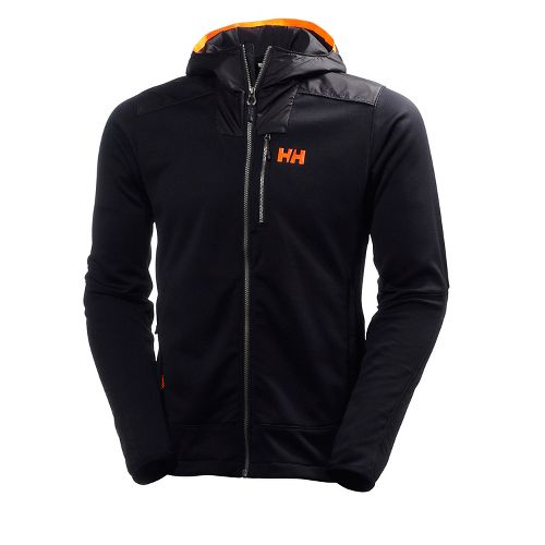 Mens Helly Hansen Ullr Midlayer Cold Weather Jackets - Black M