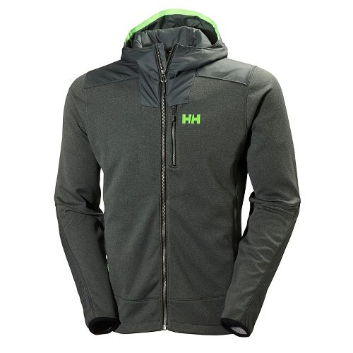 Mens Helly Hansen Ullr Midlayer Cold Weather Jackets - Rock XL