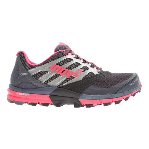 Womens Inov-8 Trail Claw 275 GTX Trail Running Shoe - Grey/Pink 8.5