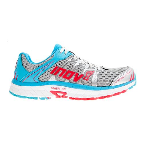 Womens Inov-8 Road Claw 275 Running Shoe - Silver/Blue/Pink 11