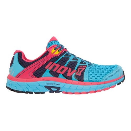 Womens Inov-8 Road Claw 275 Running Shoe - Blue/Navy/Berry 5.5