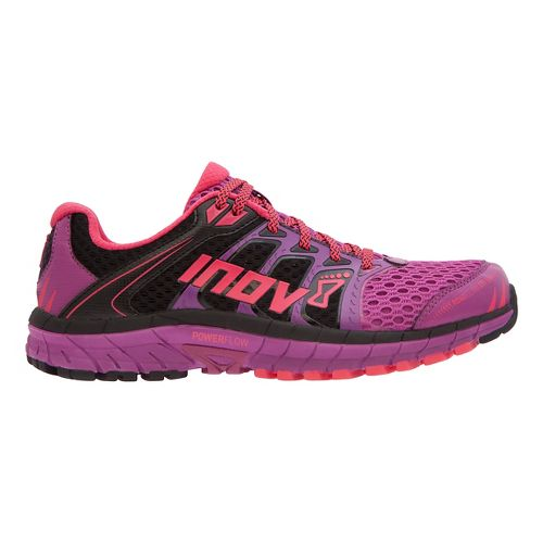 Womens Inov-8 Road Claw 275 Running Shoe - Purple/Black/Pink 9