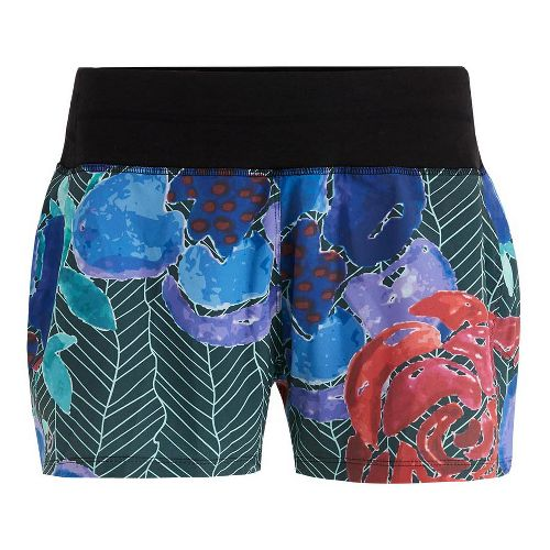 Womens Tasc Performance Verve Short Print Unlined Shorts - Kabloom L