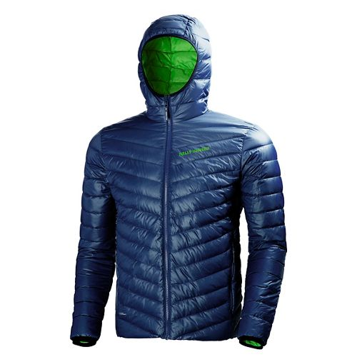 Mens Helly Hansen Verglas Down Insulator Vests Jackets - Evening Blue M