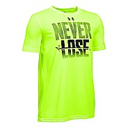 Under Armour Boys Never Lose T Short Sleeve Technical Tops