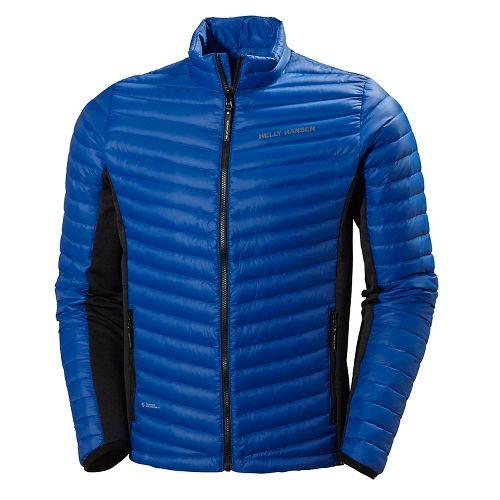 Mens Helly Hansen Verglas Hybrid Insulator Cold Weather Jackets - Classic Blue L