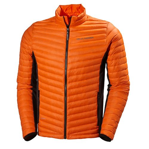 Mens Helly Hansen Verglas Hybrid Insulator Cold Weather Jackets - Magma XL